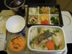 JAL / 日本航空の機内食