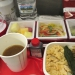 JAL / 日本航空の機内食の写真